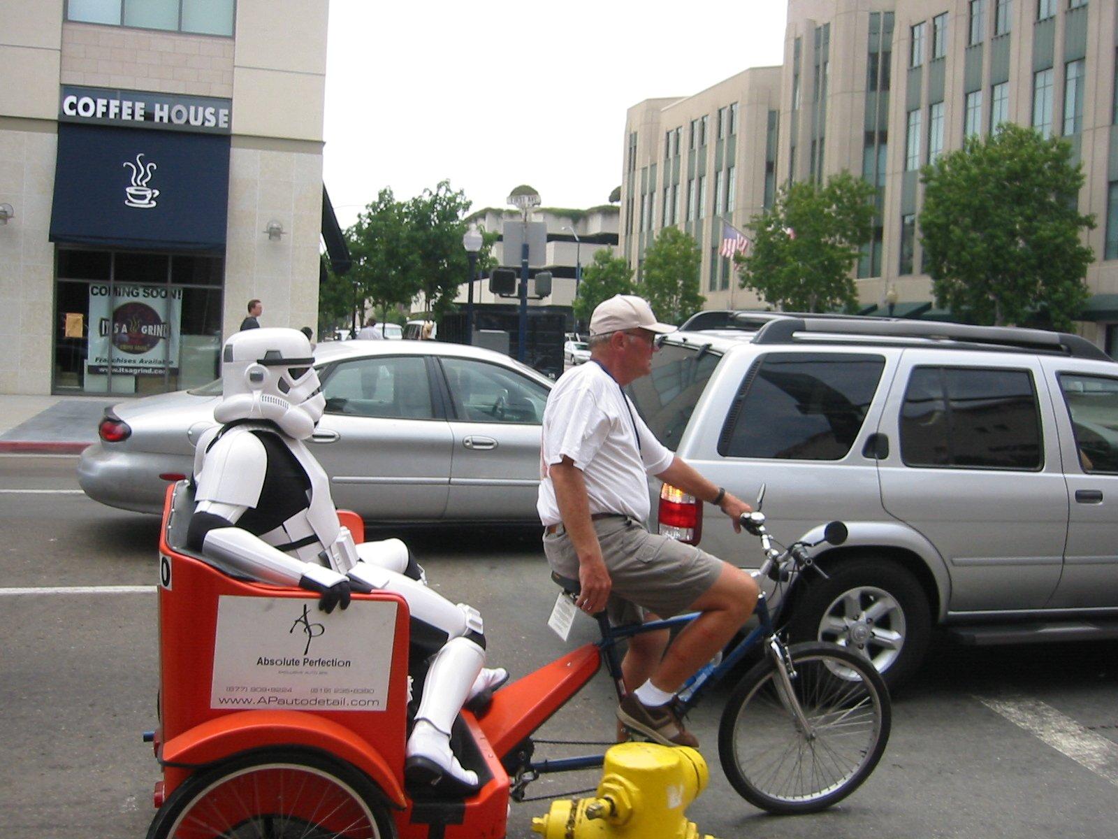 Humor - Star Wars  Stormtrooper Wallpaper