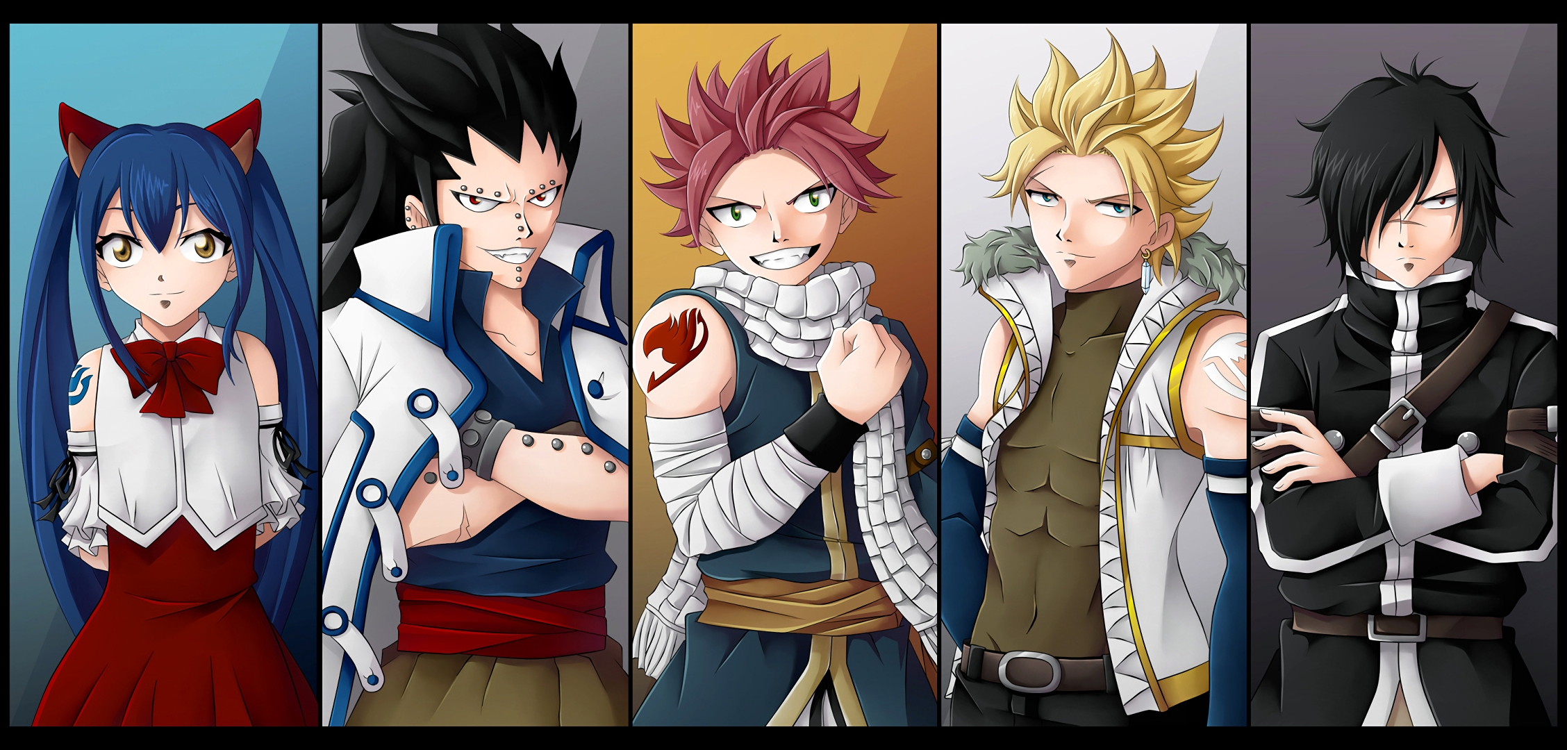 Fairy Tail Fond D Ecran Hd Arriere Plan 2256x1080 Id