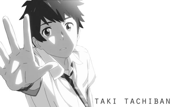 Anime Your Name. Taki Tachibana Kimi No Na Wa. HD Wallpaper   Background Image
