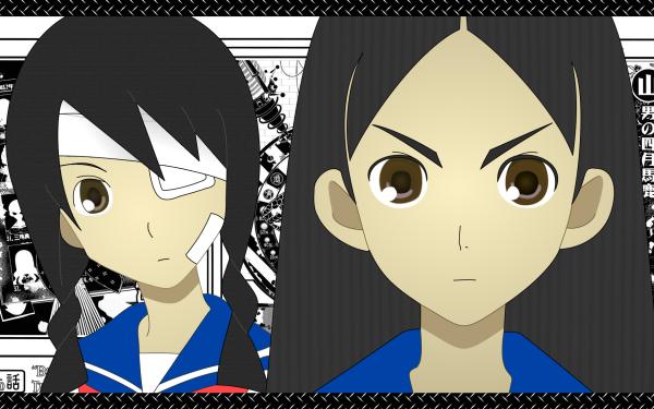 Anime Sayonara, Zetsubou-Sensei Chiri Kitsu Abiru Kobushi HD Wallpaper   Background Image