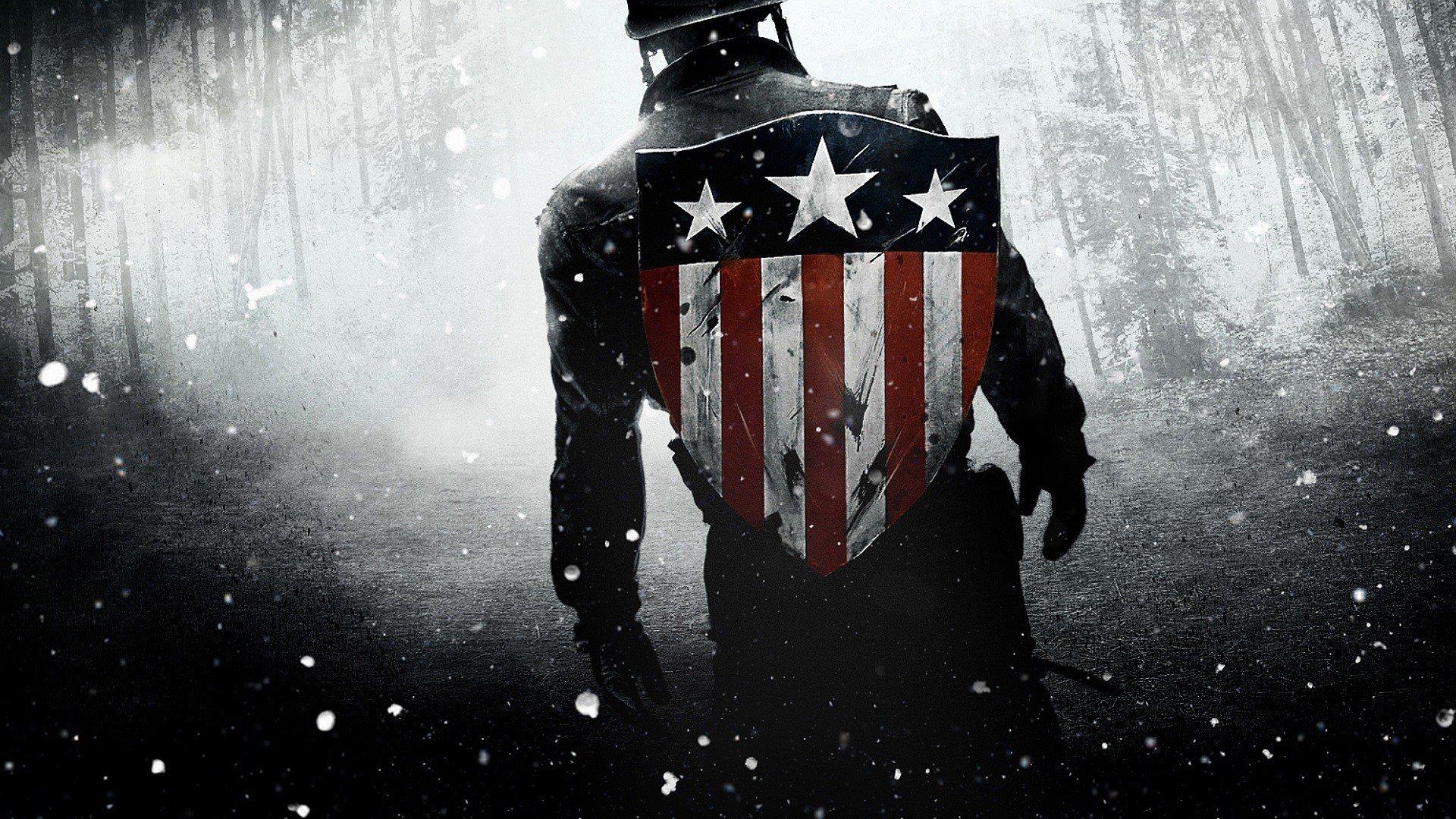 Captain America The First Avenger HD Wallpaper