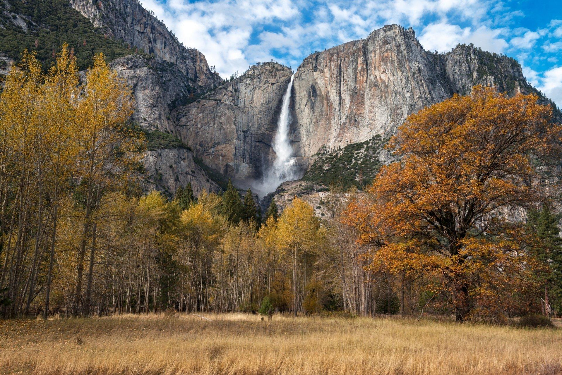 Yosemite Falls HD Wallpaper | Background Image | 2560x1709 ...