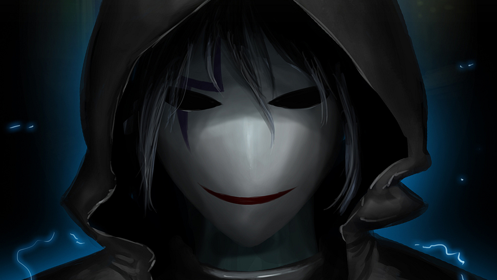 Darker Than Black HD Wallpaper