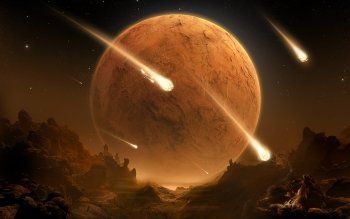 Sciencefiction - Planet Rise Wallpapers and Backgrounds ID : 76944