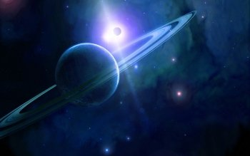Fantascienza - Planetary Ring Wallpapers and Backgrounds ID : 76964