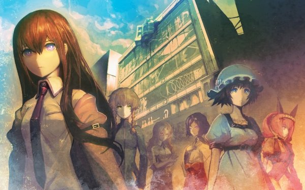 Anime Steins;Gate HD Wallpaper   Background Image