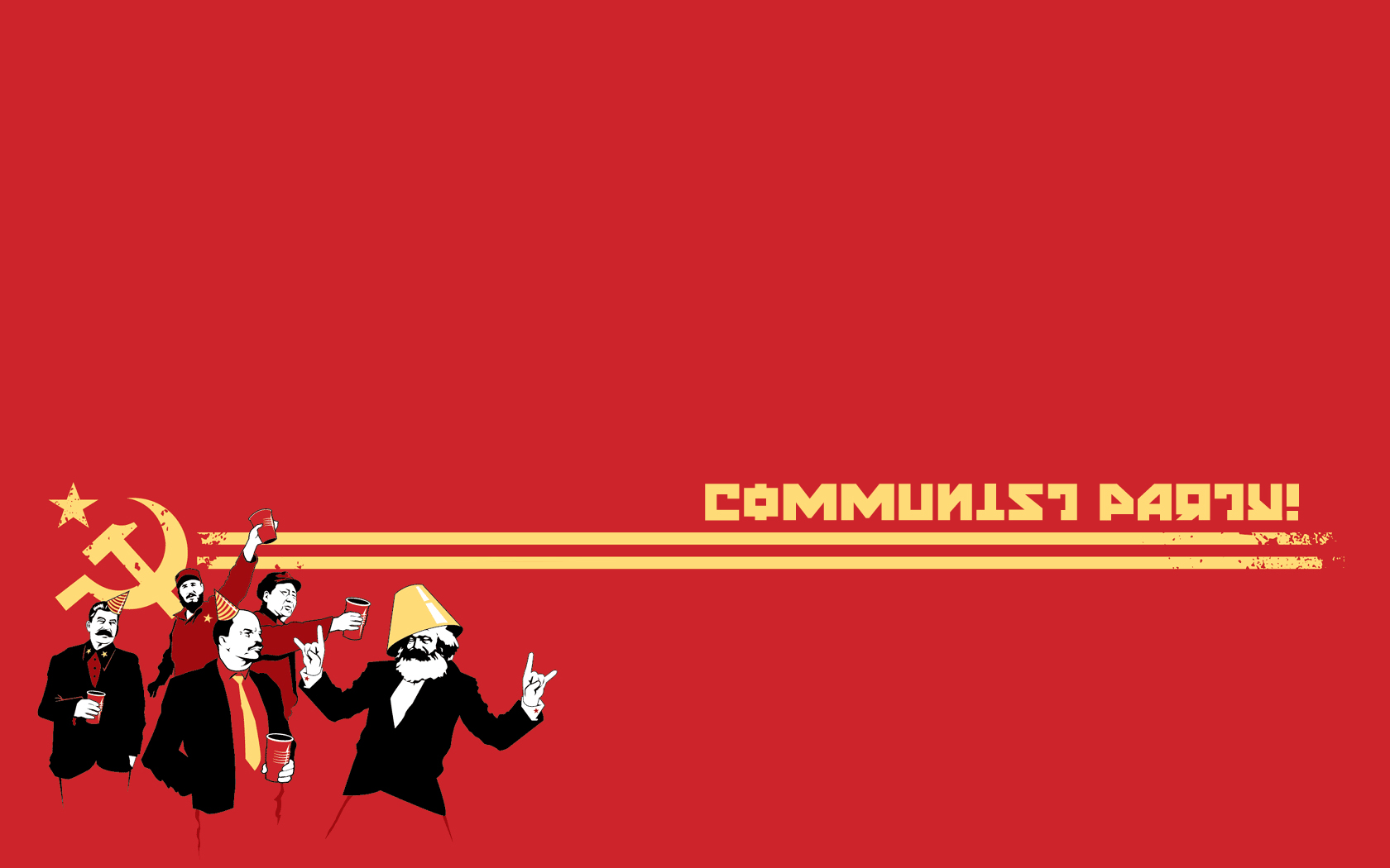 Man Made - Communism  Wallpaper