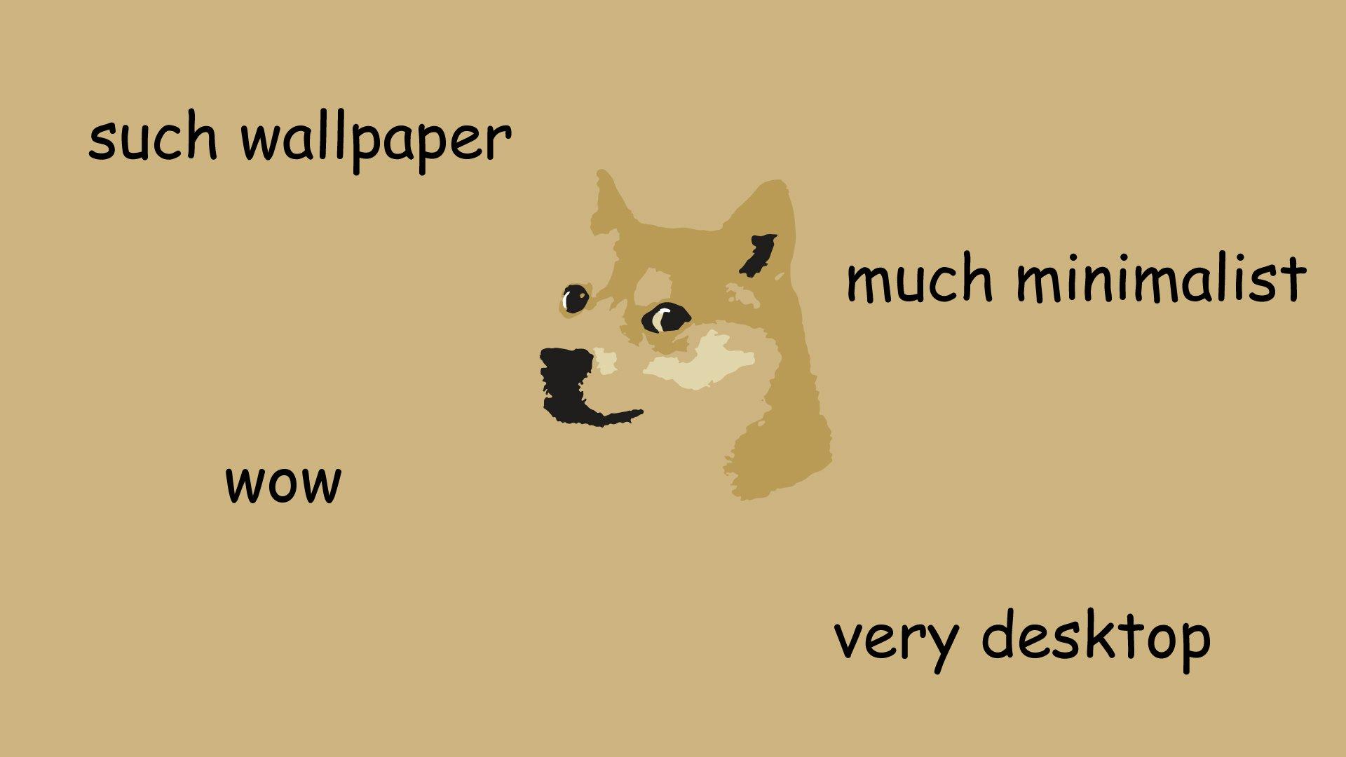 Humor - Doge  Wallpaper