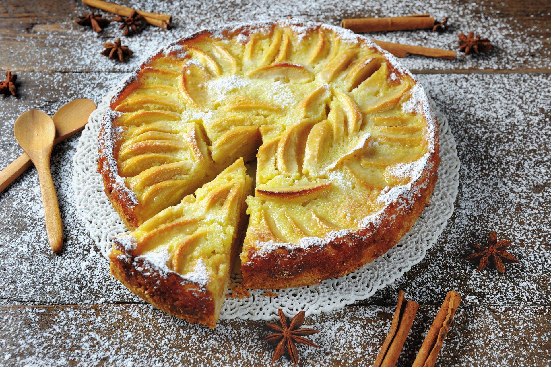 Food - Pie  Pastry Cinnamon Star Anise Wallpaper