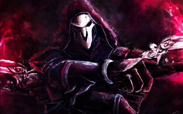 Video Game Overwatch Reaper HD Wallpaper | Background Image
