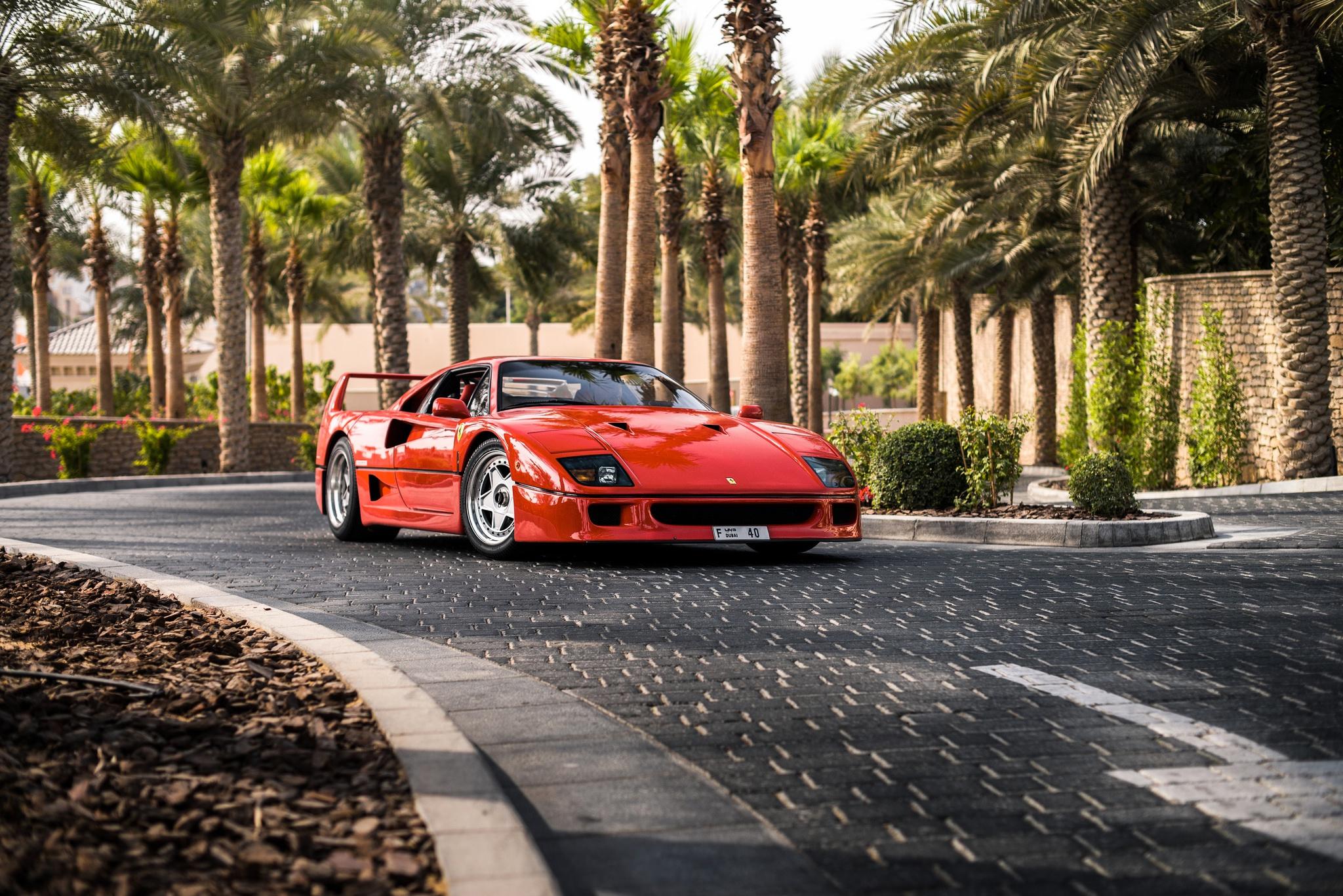 Ferrari F40 HD Wallpaper