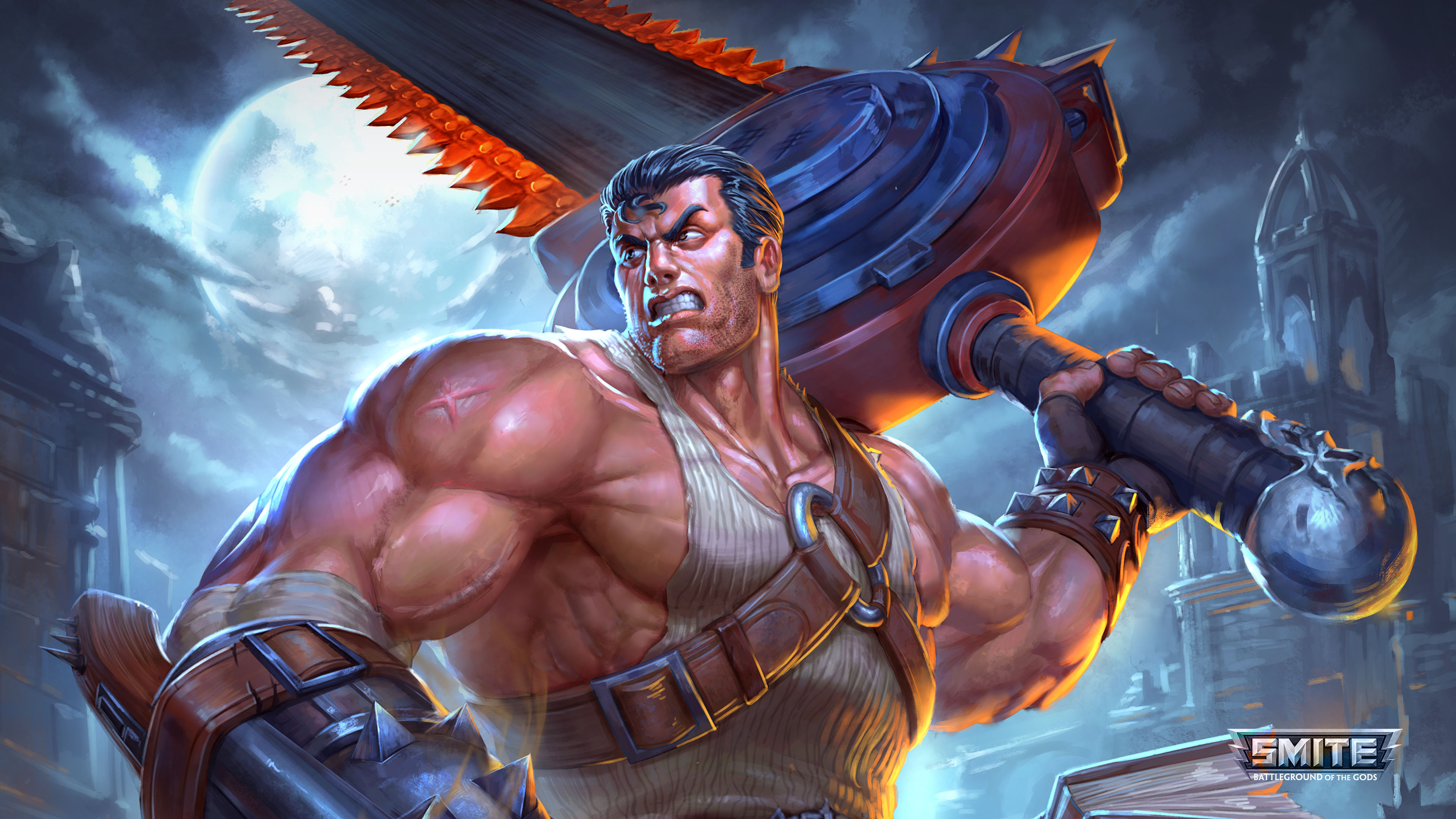 Smite 4k ultra hd wallpaper and background image 3840x2160 id774716 video game smite wallpaper voltagebd