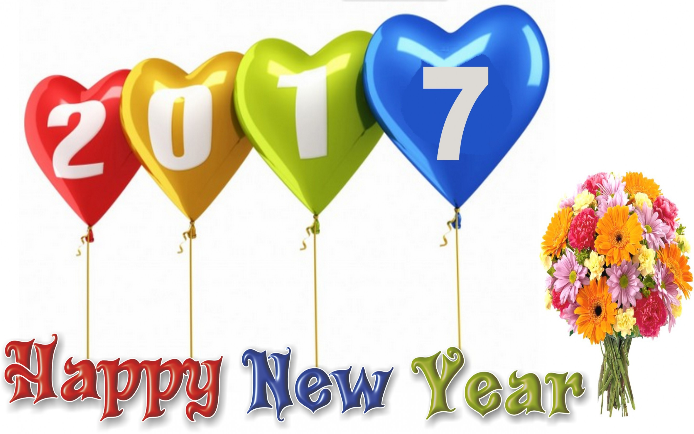 New Year 2017 Hd Wallpaper Background Image 2880x1800 Id