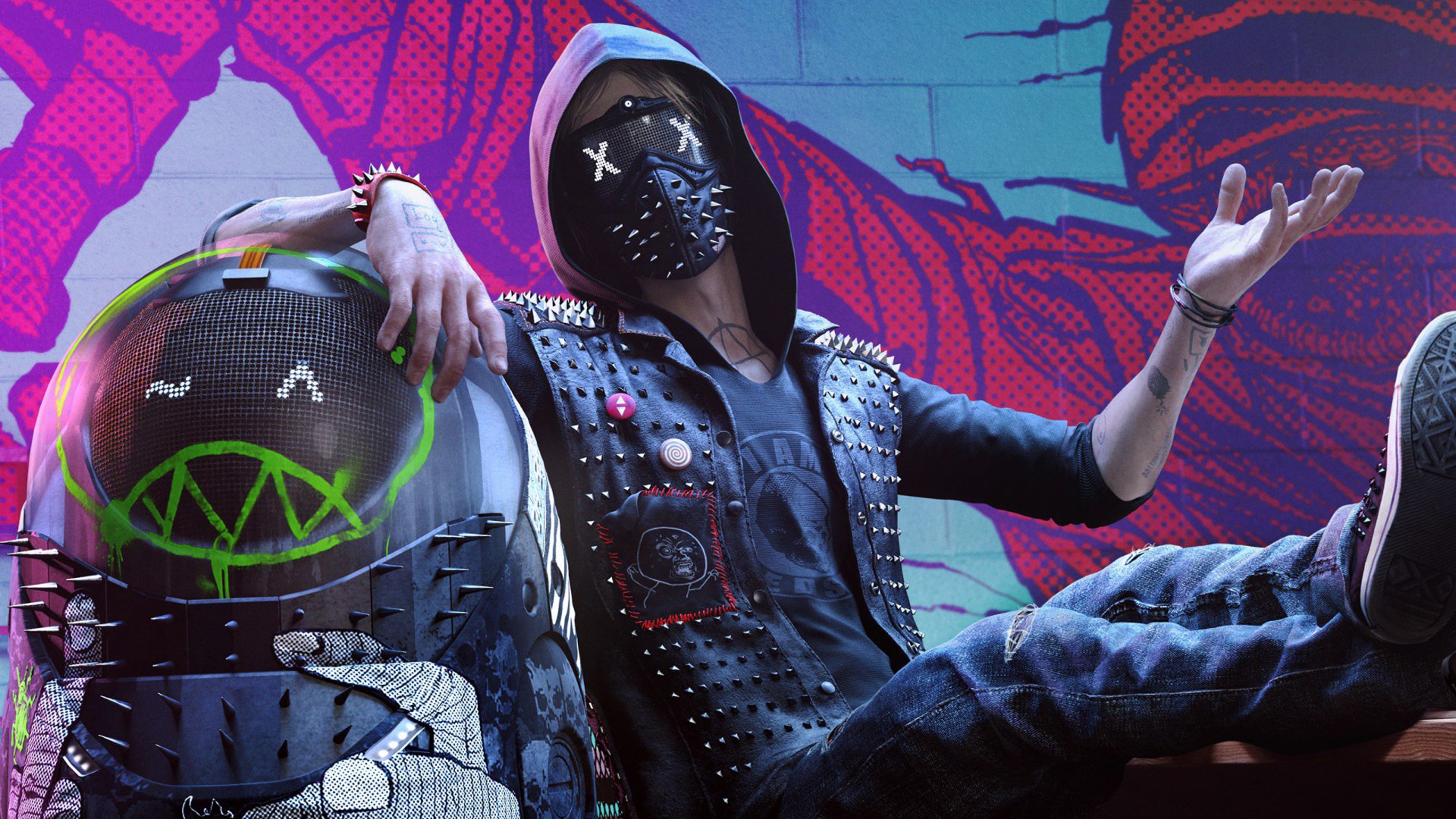 Video Game - Watch Dogs 2  Wrench (Watch Dogs) Wallpaper