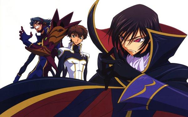Anime Code Geass Lelouch Lamperouge Suzaku Kururugi Jeremiah Gottwald HD Wallpaper   Background Image