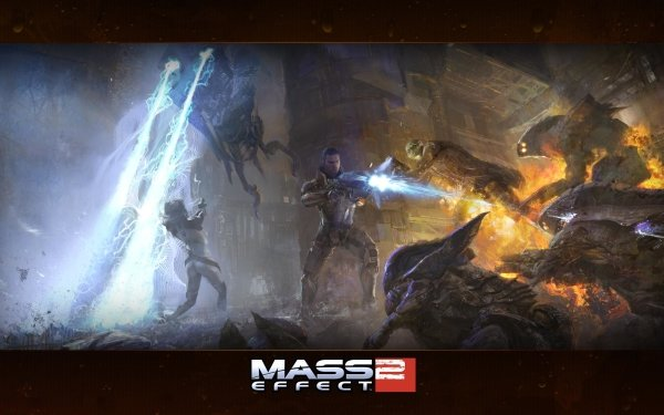 Video Game Mass Effect 2 Mass Effect Commander Shepard Miranda Lawson HD Wallpaper   Background Image