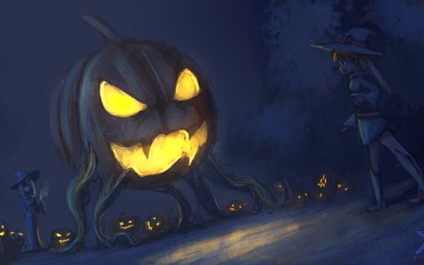 Anime Little Witch Academia Atsuko Kagari HD Wallpaper | Background Image