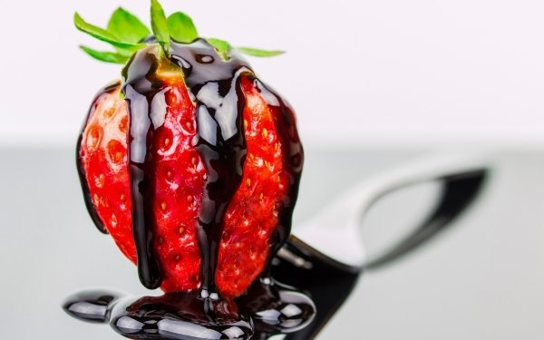Food Strawberry Fruits Fruit Berry Caramel HD Wallpaper | Background Image