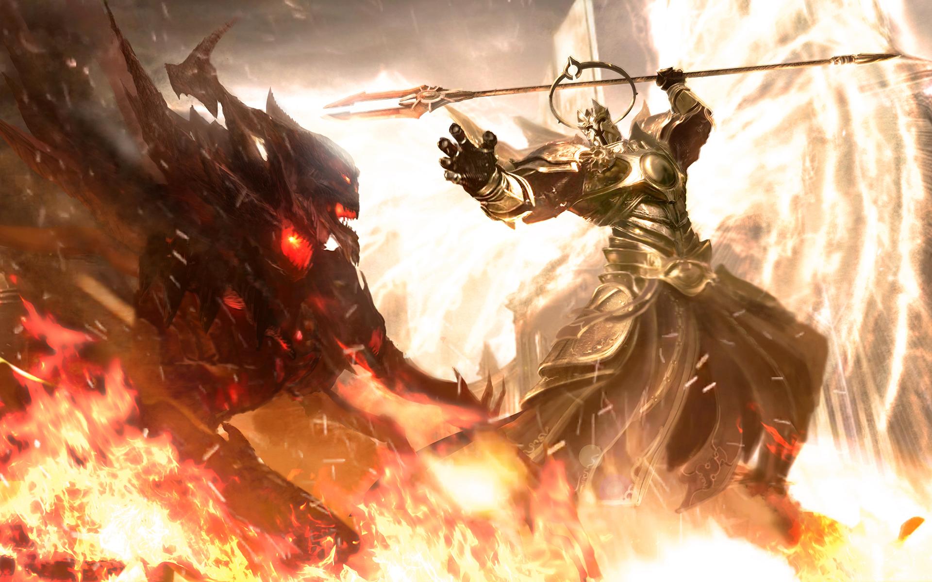Diablo III Full HD Wallpaper and Background
