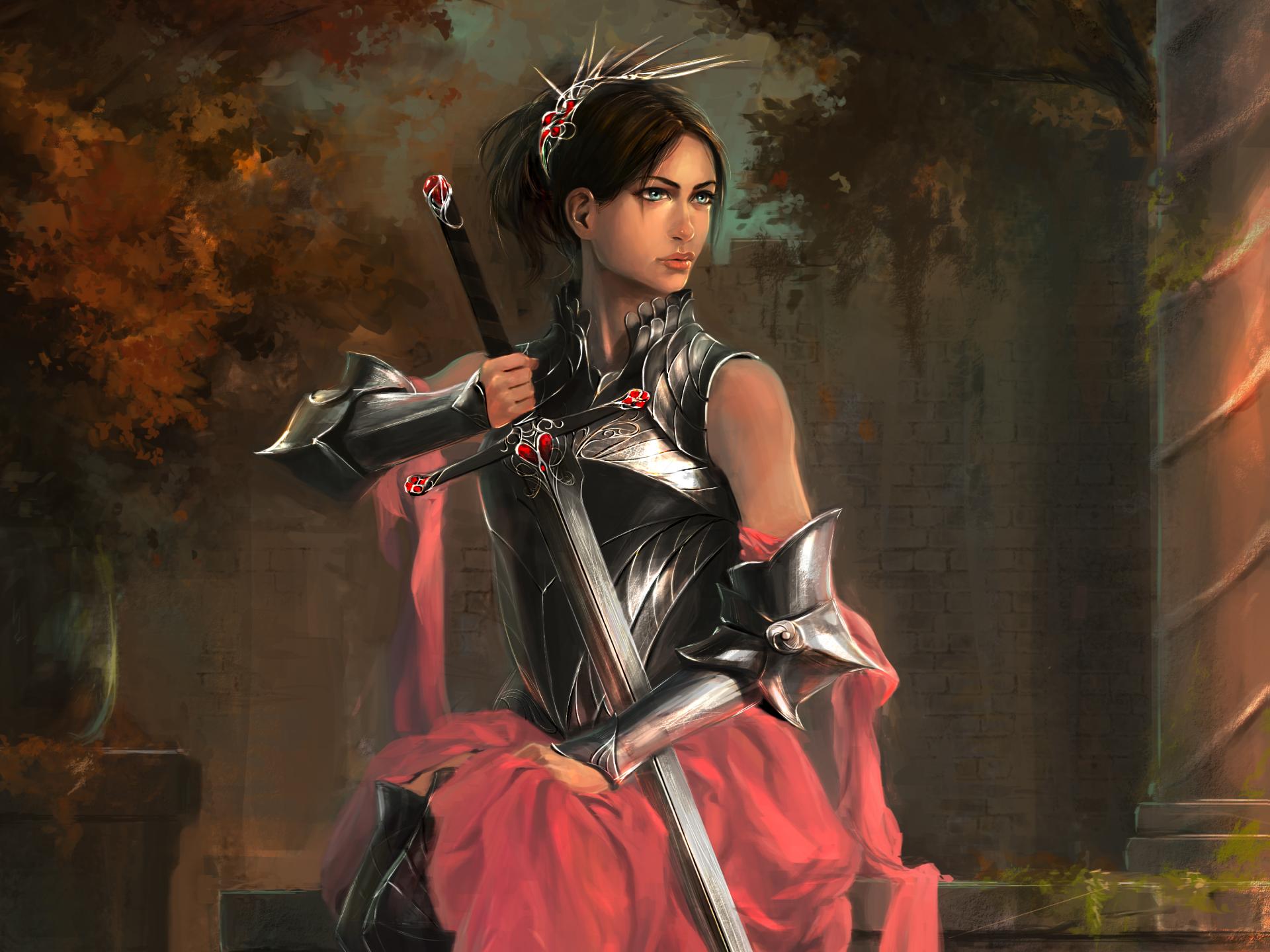 Women Warrior HD Wallpaper | Background Image | 3000x2250 ...