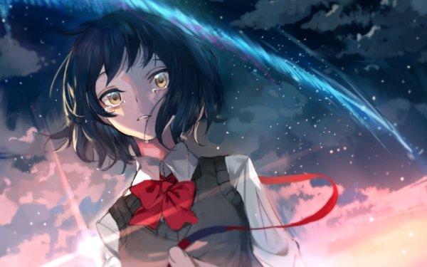 Anime Your Name. Mitsuha Miyamizu Kimi No Na Wa. HD Wallpaper | Background Image
