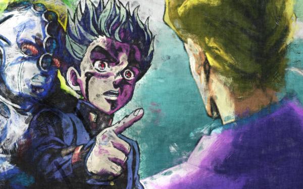 Anime Jojo's Bizarre Adventure Echoes Yoshikage Kira Koichi Hirose HD Wallpaper   Background Image