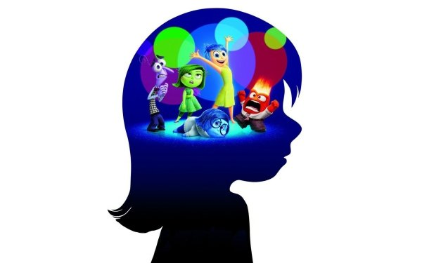 Movie Inside Out Fear Joy Disgust Sadness Anger HD Wallpaper | Background Image