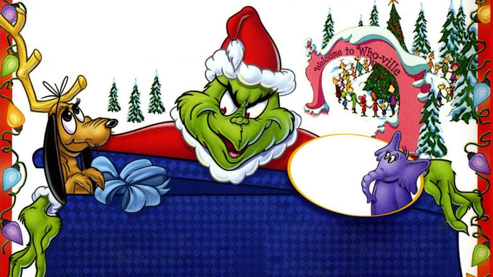 The Grinch Full HD Wallpaper And Background Image