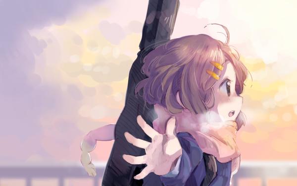 Anime K-ON! Yui Hirasawa HD Wallpaper   Background Image