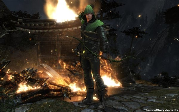 Video Game Injustice: Gods Among Us Injustice Arrow Green Arrow HD Wallpaper | Background Image