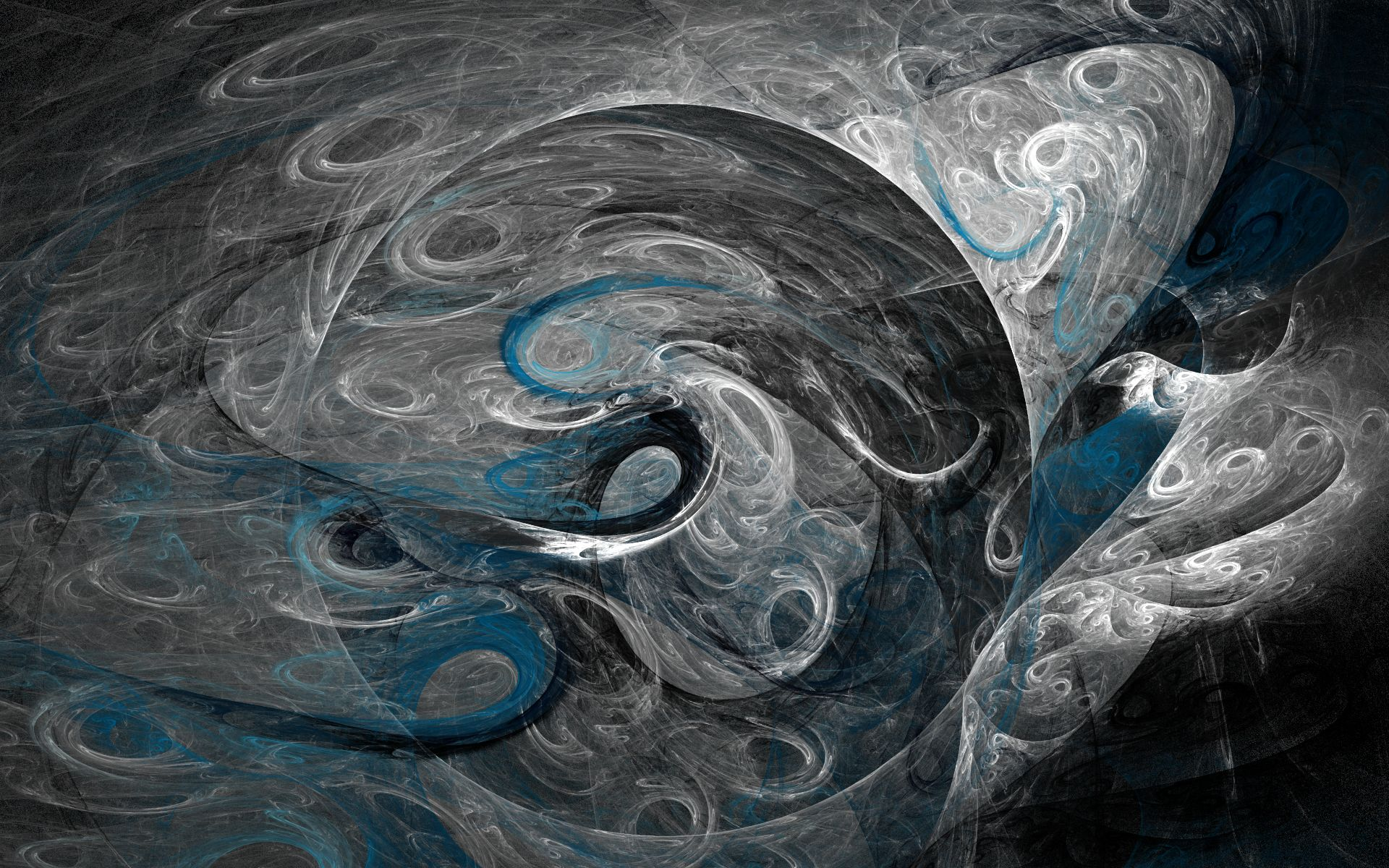 Abstract - Black  Artistic Colors Shapes Patterns Shades Texture CGI Swirl Abstract Wallpaper
