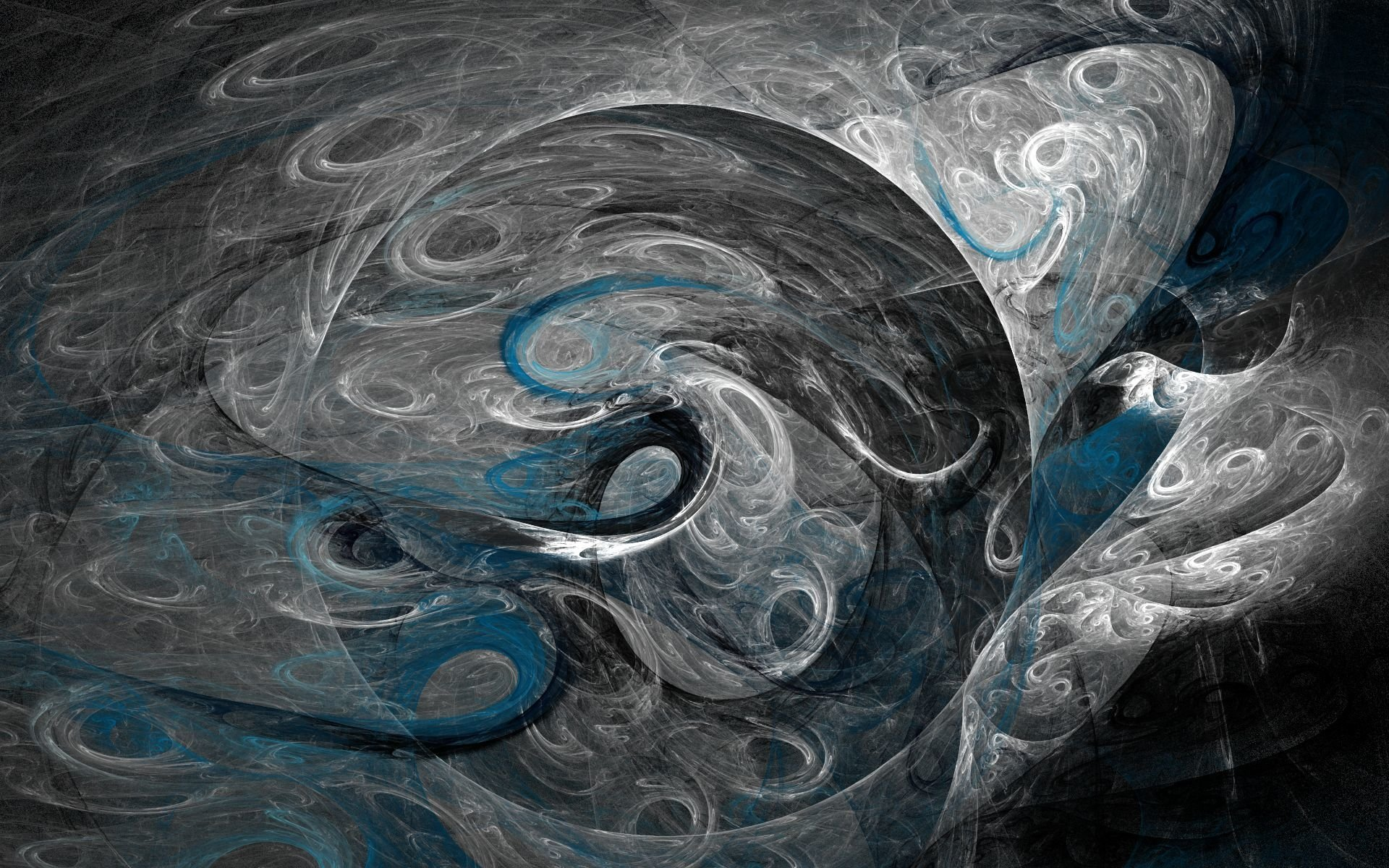 Abstract - Black  Artistic Colors Shapes Pattern Shades Texture CGI Swirl Abstract Wallpaper
