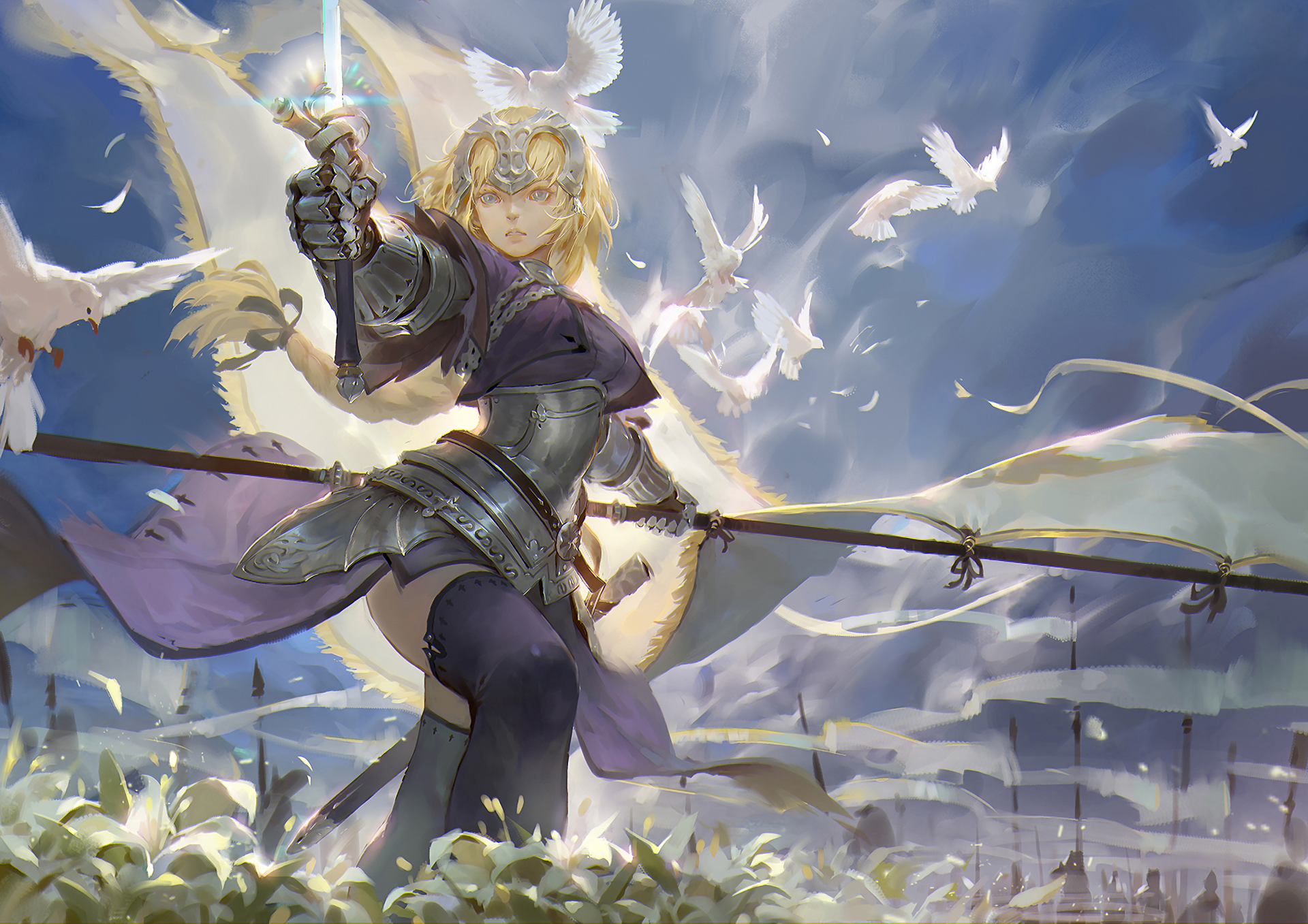 Fate Apocrypha Full Hd Wallpaper And Background Image