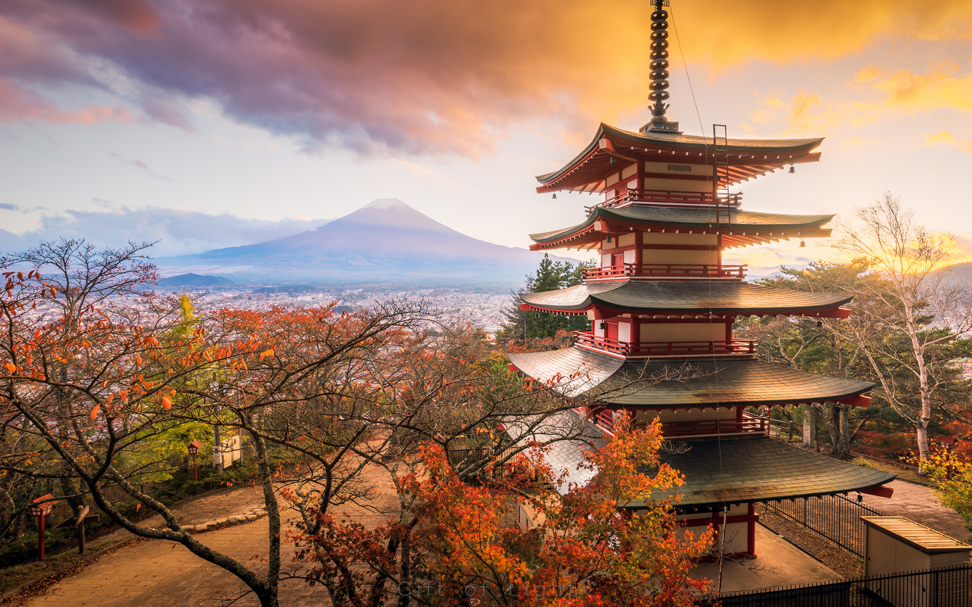 Asian Architecture Hd Wallpaper Background Image