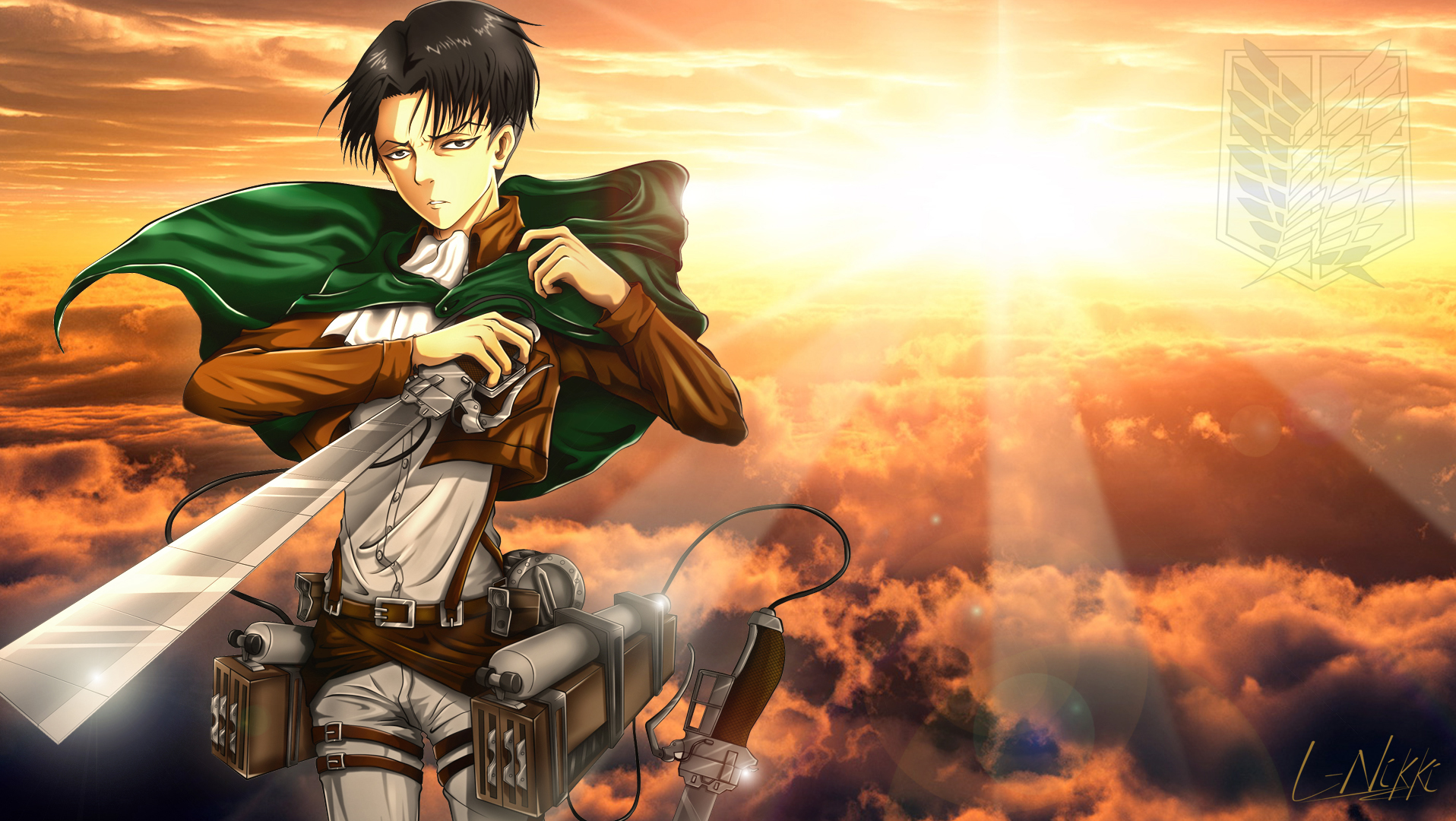 Attack On Titan Wallpaper And Background Image 1916x1080 Id 786229 Wallpaper Abyss