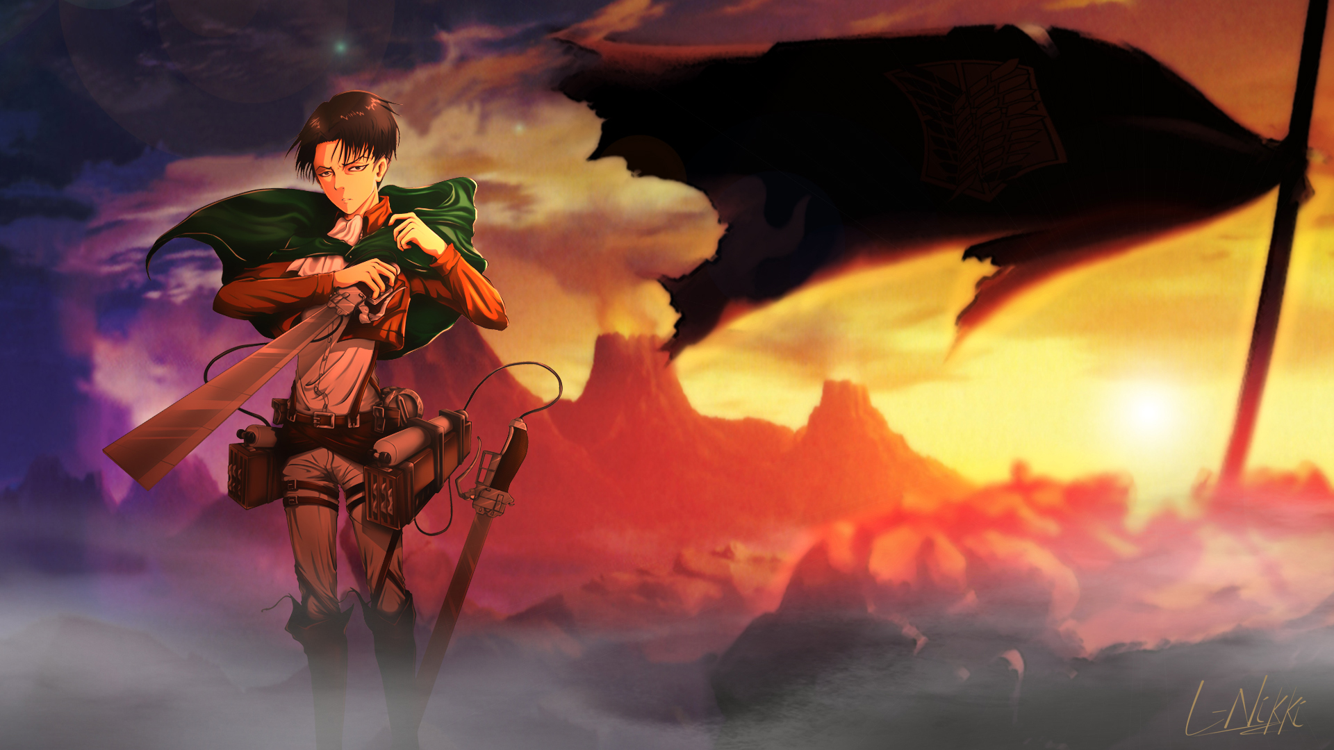 Attack On Titan Hd Wallpaper Background Image 1920x1080 Id 786272 Wallpaper Abyss
