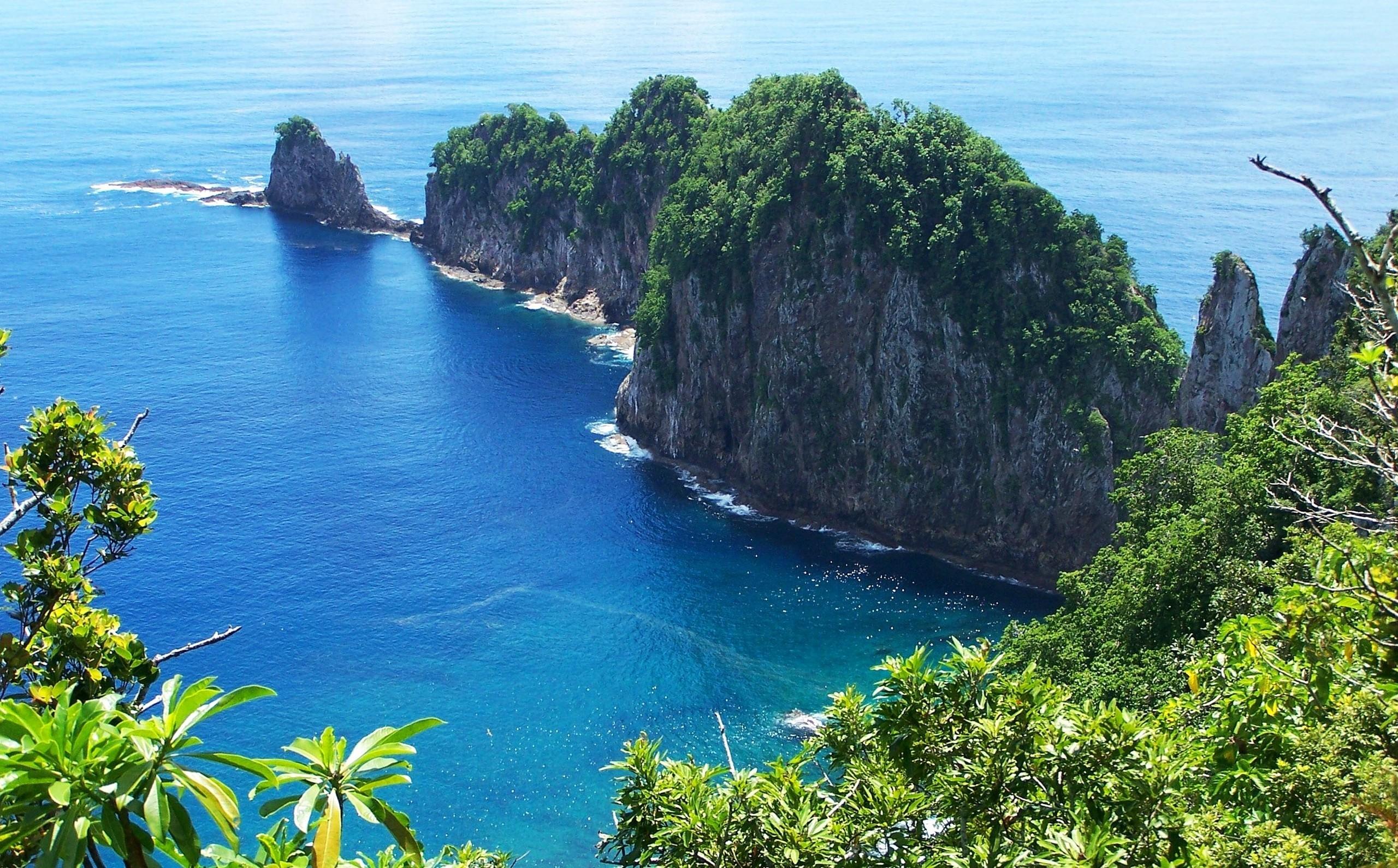 Coastline In American Samoa HD Wallpaper
