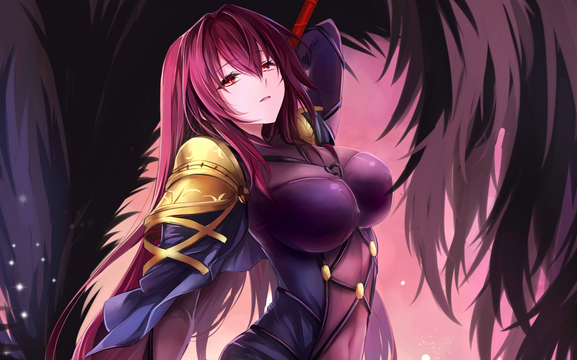 81 Scathach Fate Grand Order Hd Wallpapers Background Images Wallpaper Abyss