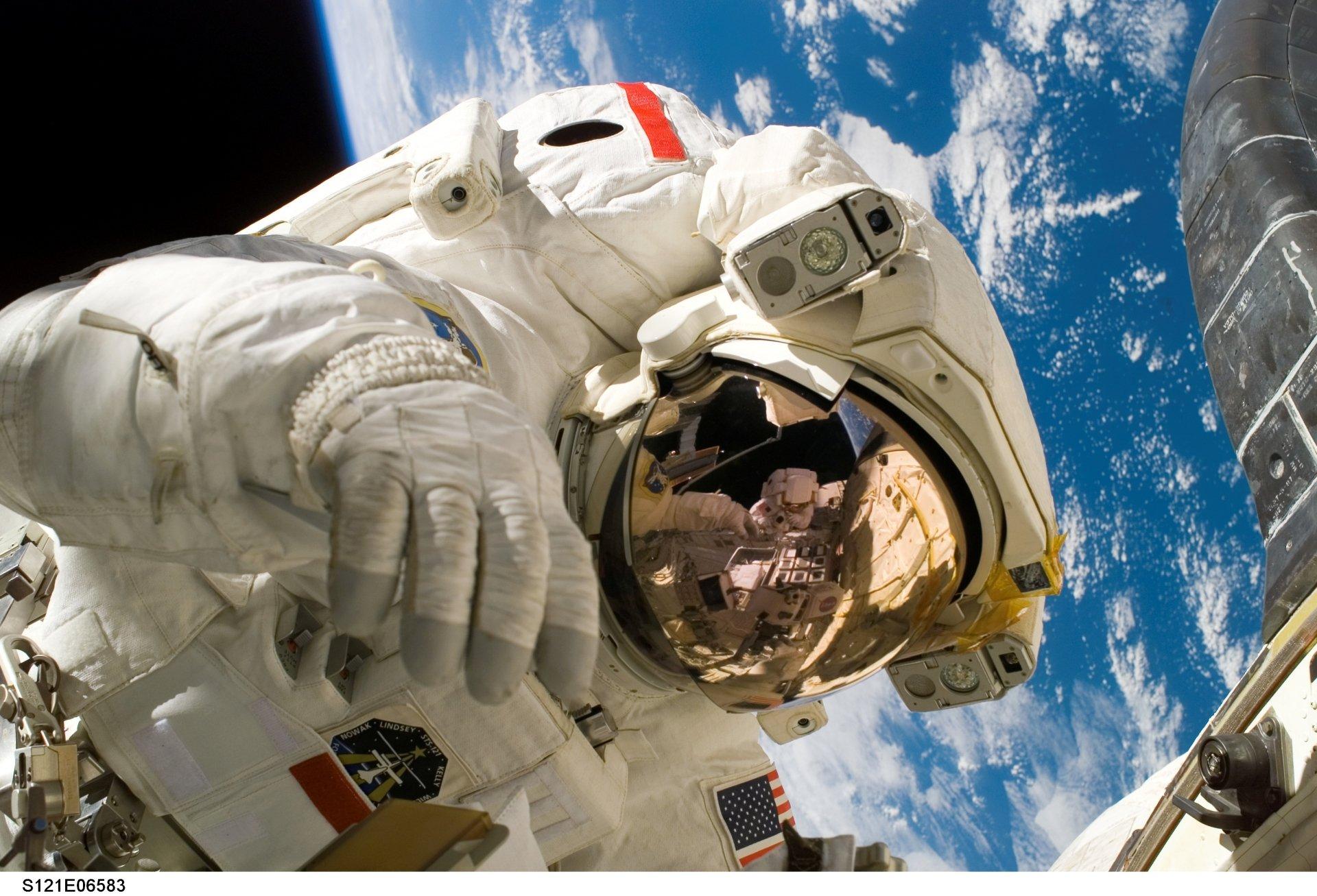 Man Made - NASA  Astronaut Wallpaper