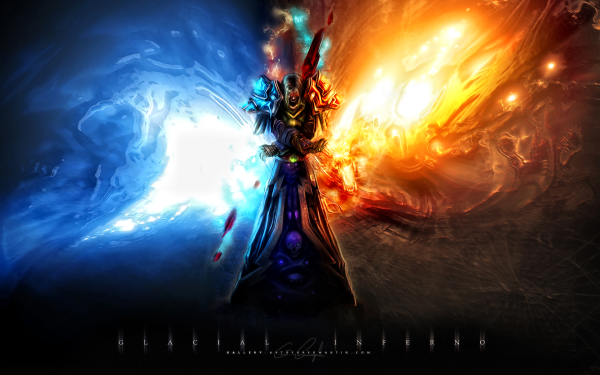 Video Game World Of Warcraft Warcraft Fantasy Warrior Armor Wizard HD Wallpaper | Background Image