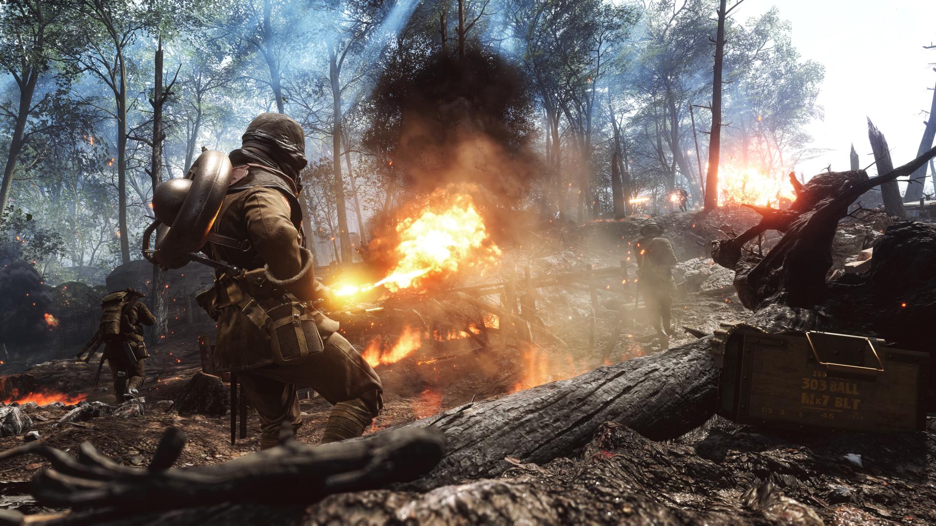 Cool Battlefield 4 Fire Armor In Black Background: Battlefield 1 4k Ultra HD Wallpaper