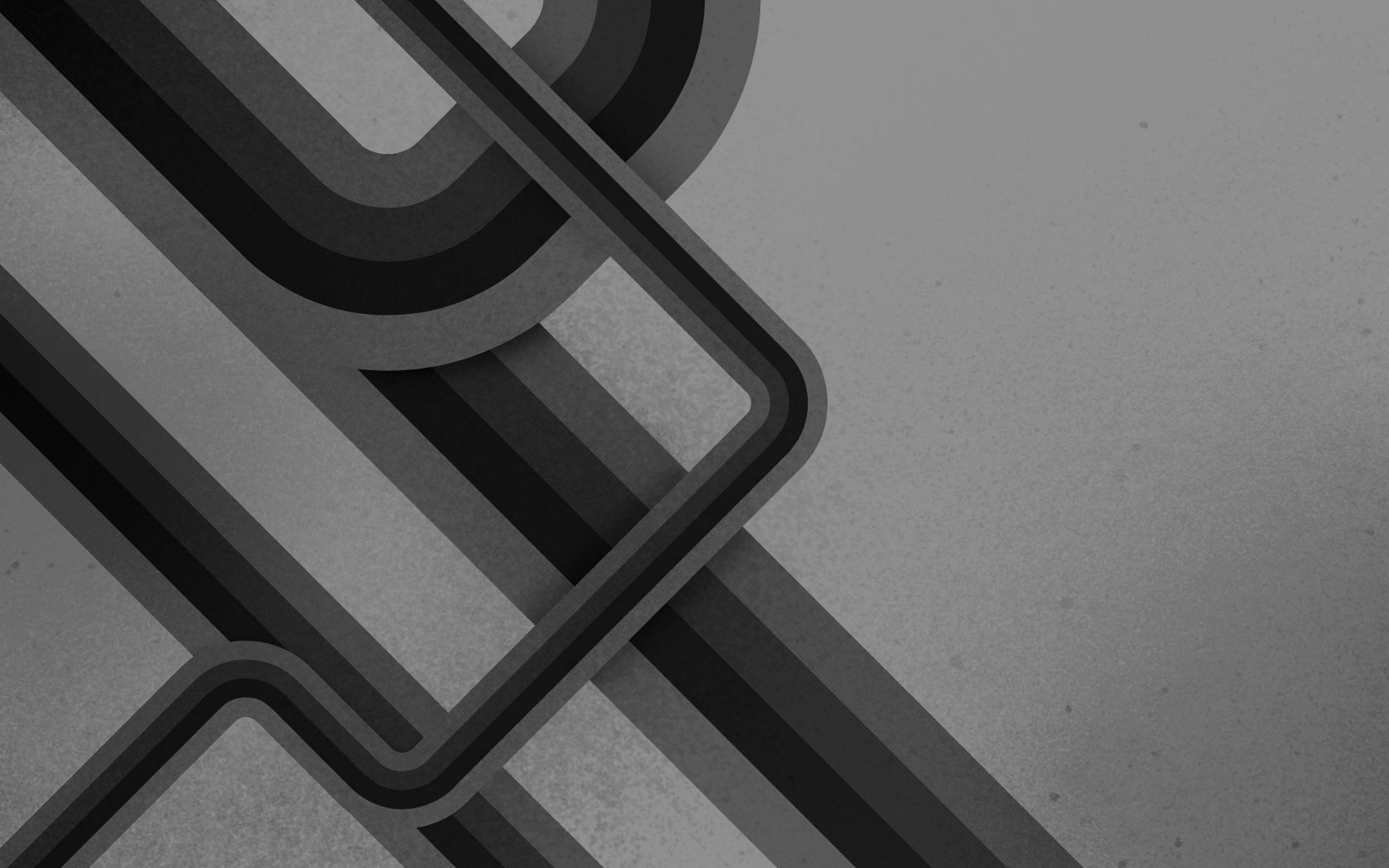 Abstract - Grey  Colors Shapes Pattern Texture CGI Artistic Abstract Wallpaper