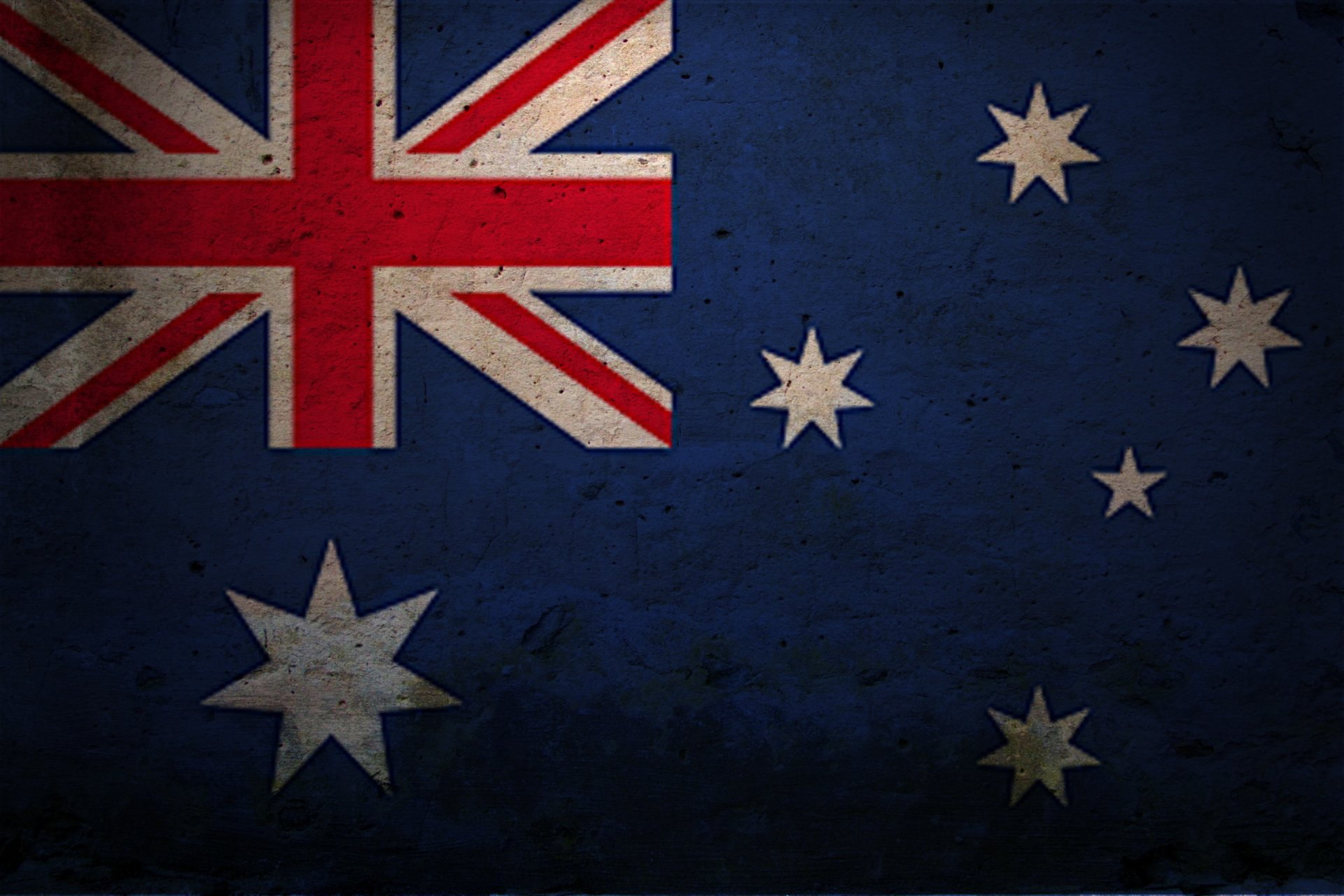 Diversen - Flag Of Australia  Wallpaper
