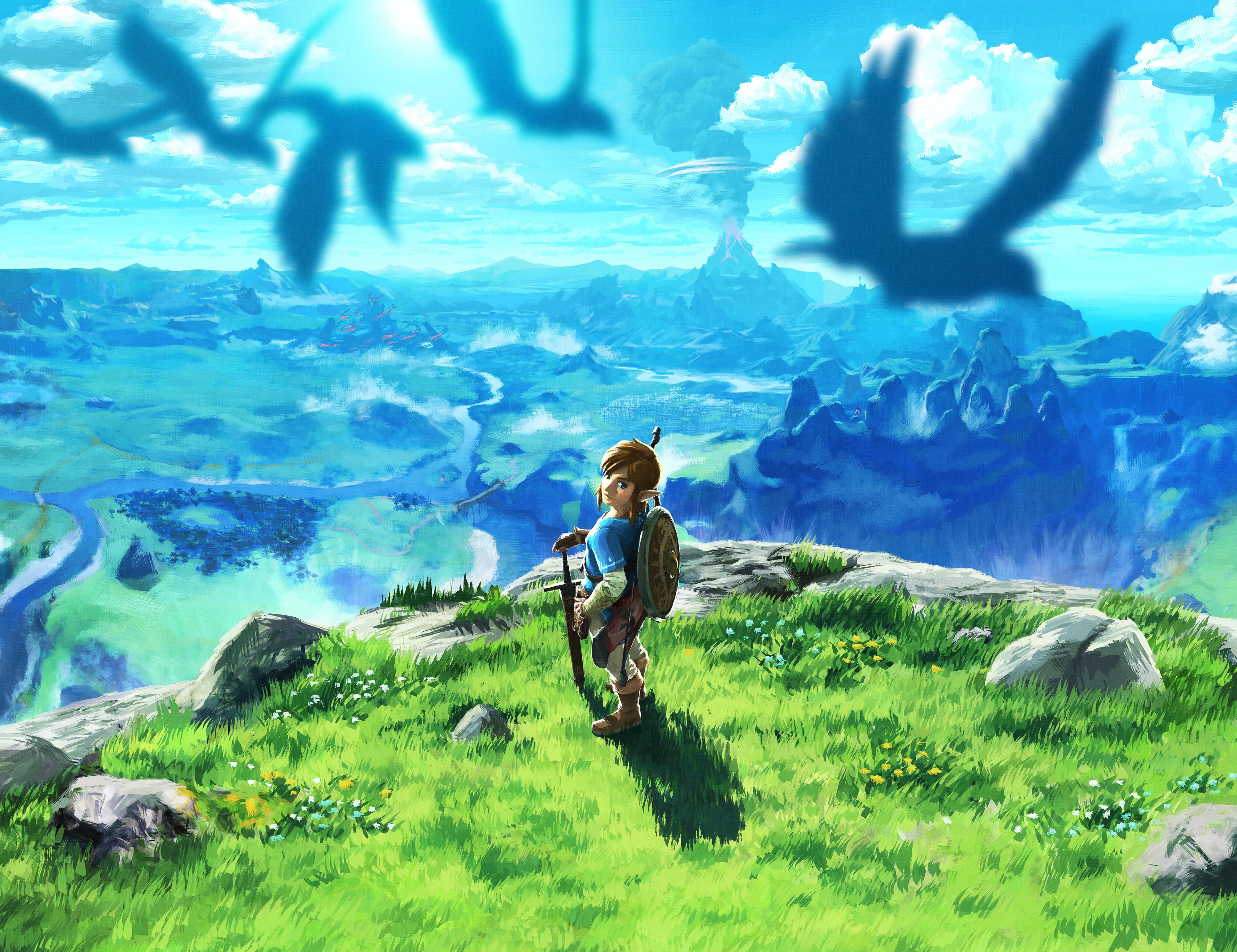 The Legend Of Zelda Breath Of The Wild 4k Ultra Fondo De