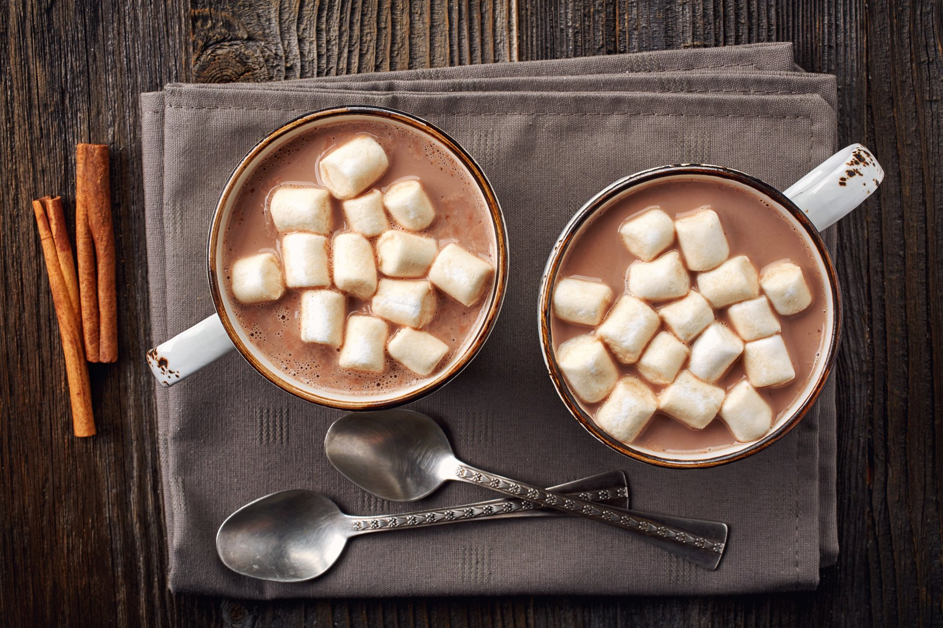 Food - Hot Chocolate  Cup Marshmallow Wallpaper