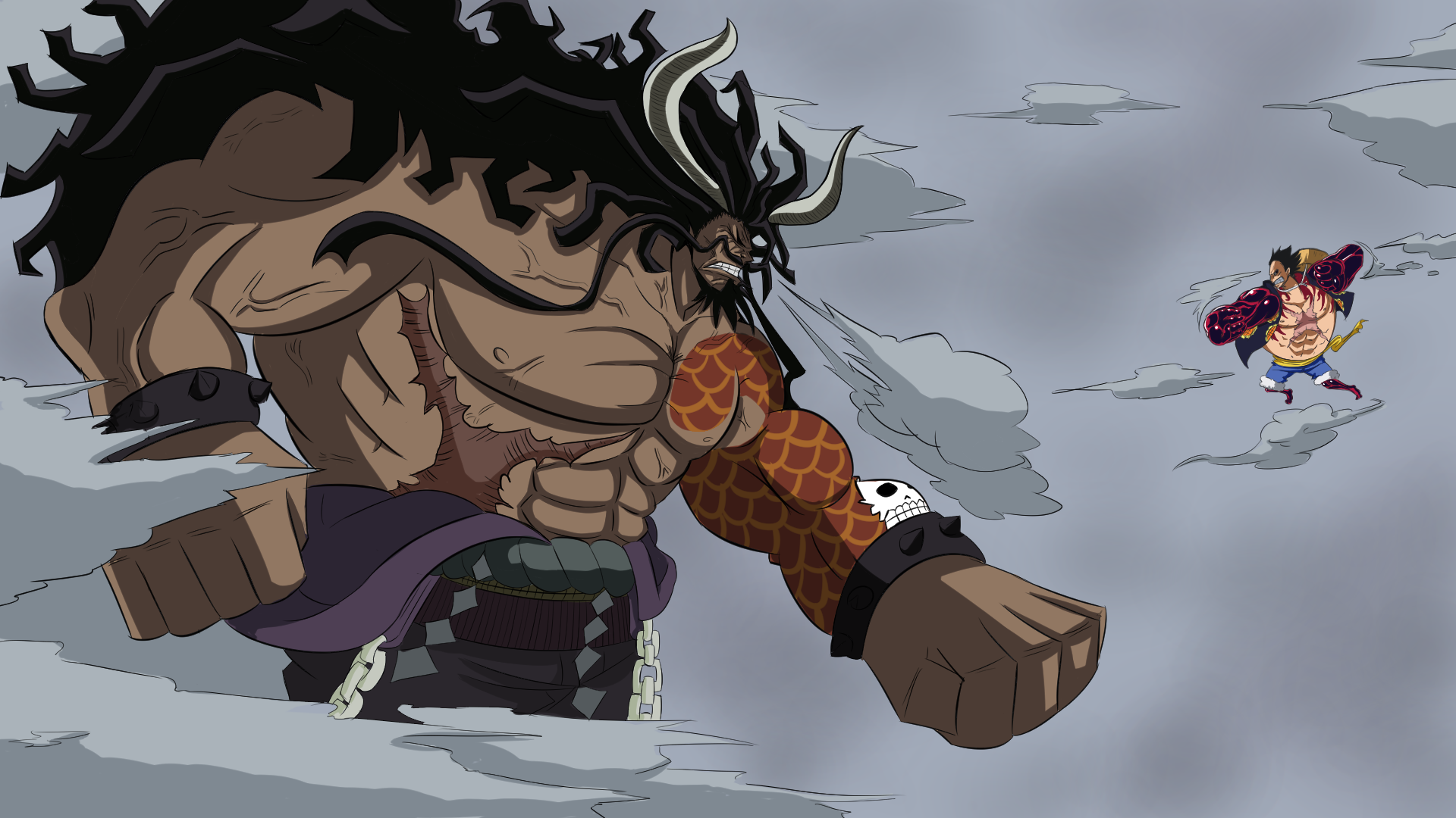 50 Kaido One Piece Hd Wallpapers Background Images