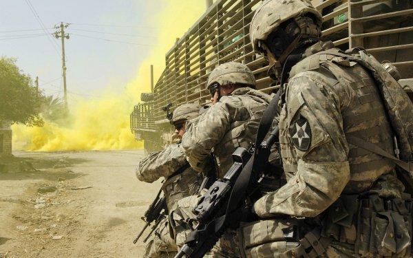 Military Soldier Smoke Grenade HD Wallpaper | Background Image