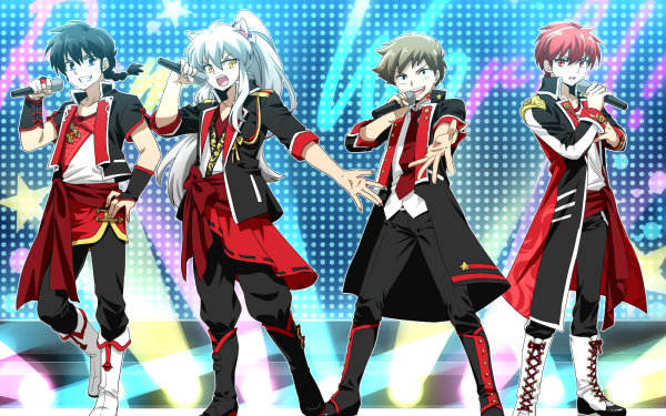 Anime Crossover Ranma Saotome InuYasha Ranma ½ Kyoukai no Rinne Rinne Rokudou HD Wallpaper | Background Image