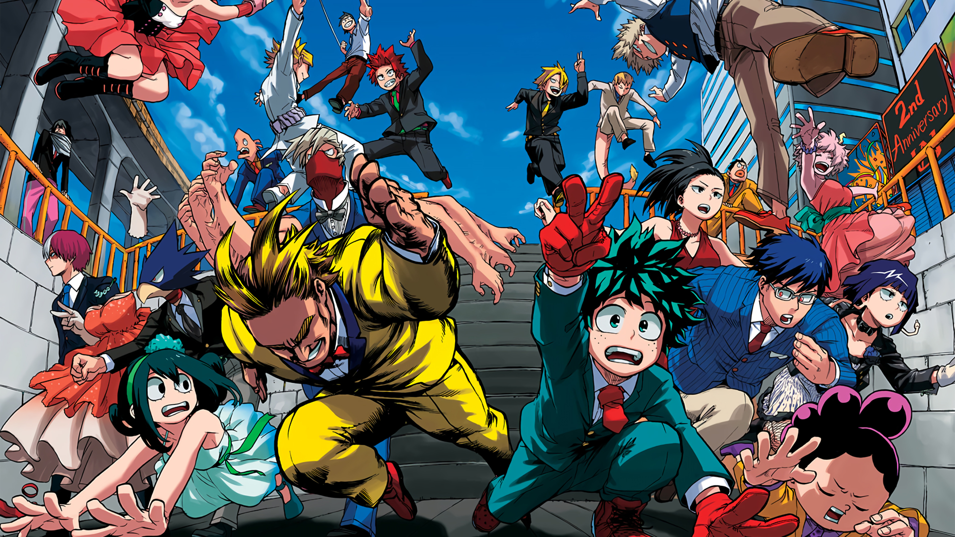 My Hero Academia HD Wallpaper   Background Image ...