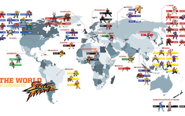 Video Game Street Fighter Map HD Wallpaper | Background Image